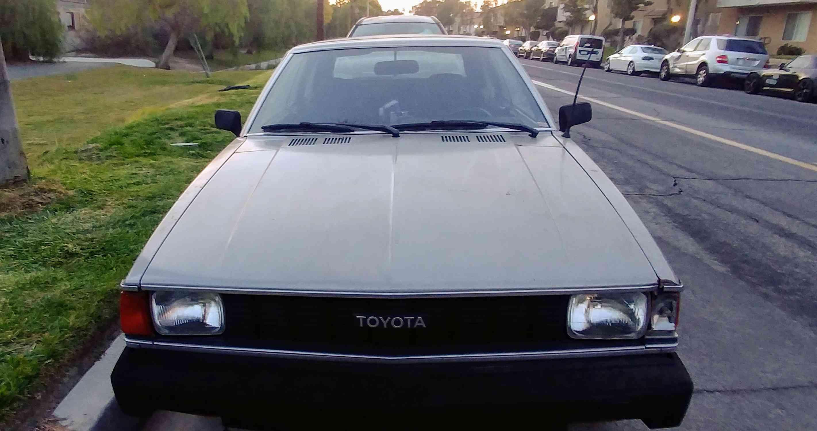 1981 Toyota Corolla Stick Shift