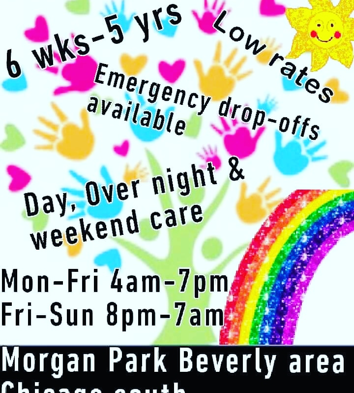 Week Days, Weekend & Overnight Childcare Serviced