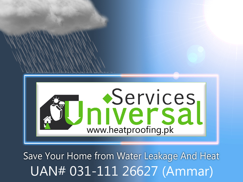 Roof and Wall Heat Proofing/ Water Proofing Services