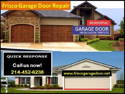 #1 Garage Door Repair Frisco, TX – Call 214-452-6238