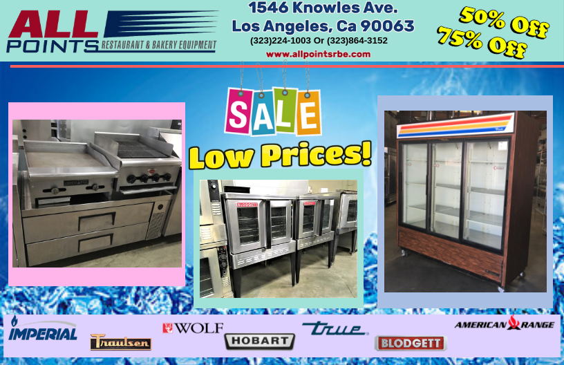 RESTAURANT AND BAKERY EQUIPMENT FOR SALE!!!!