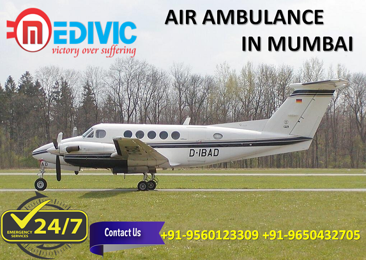 Most Phenomenal ICU Care Air Ambulance in Mumbai by Medivic