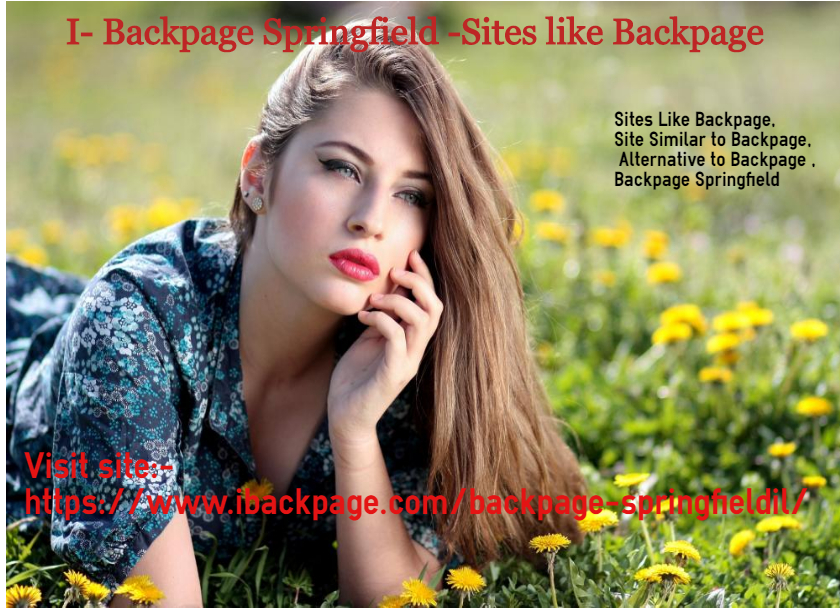 I- Backpage Springfield -Site Similar to Backpage