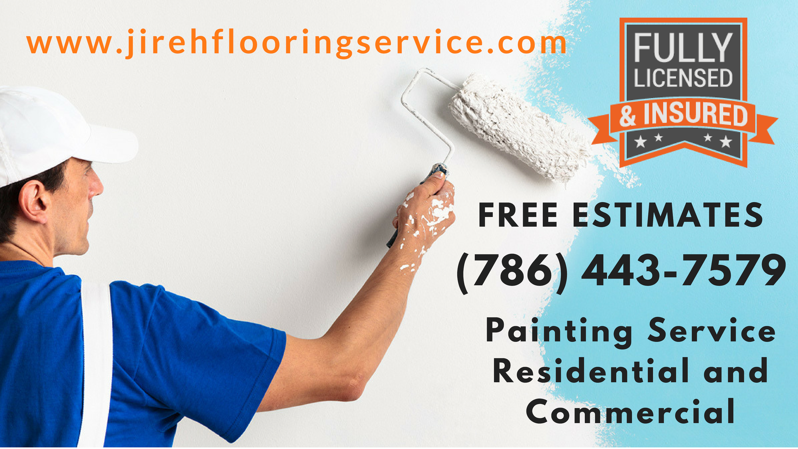 MIAMI + BROWARD:.Professional Painters Interior Exterior House Painting