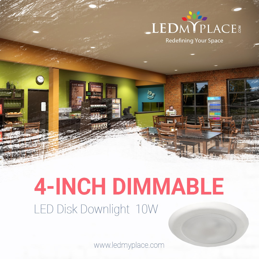 Use 4 Inch Dimmable Led Downlights That Leaves No Dark Spots