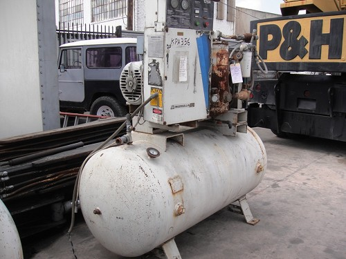 INGERSOLL RAND SSR COMPRESSOR, YEAR 1982, HOURS 55001 35HP