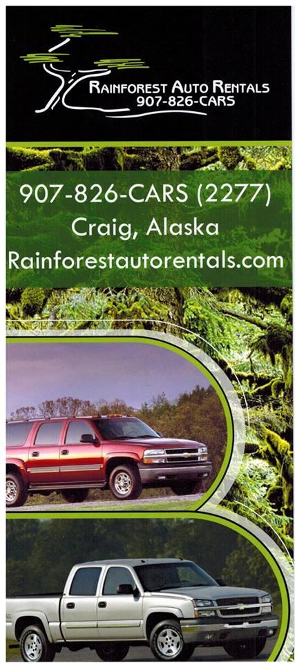 Car Rentals Craig AK
