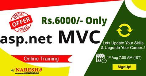 Asp.net MVC Online Training - NareshIT