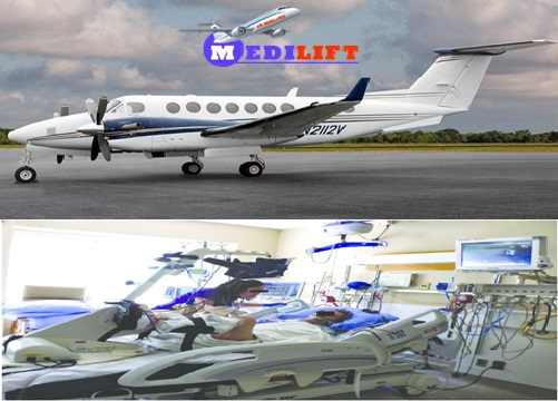 Get Most Superior Relocation by Medilift Air Ambulance Service in Shimla