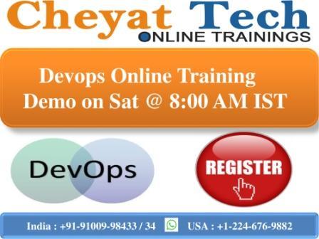 Cheyat Technologies providing Devops Online Training with highest standards.