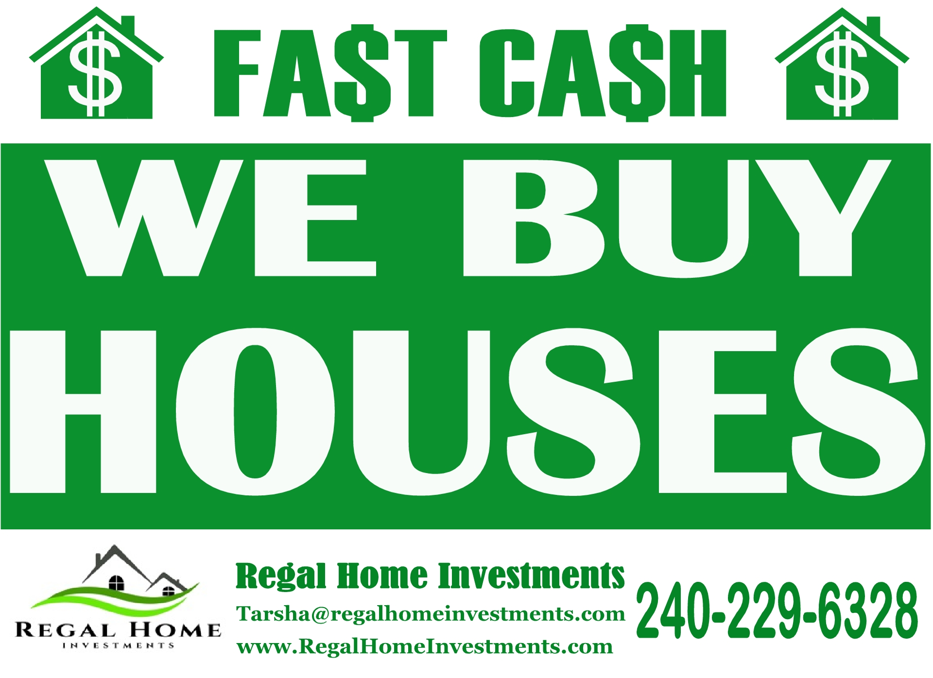 We can buy your home as-is CASH!