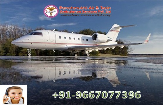 Hire Fast and Secure Air Ambulance Services in Coochbehar Medical Team