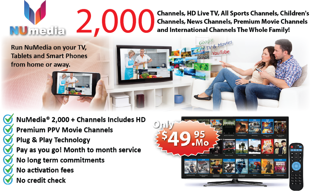 Want a Less Expensive way Of enjoying TV service ?