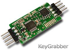 Hardware Keylogger - KeyGrabber Module