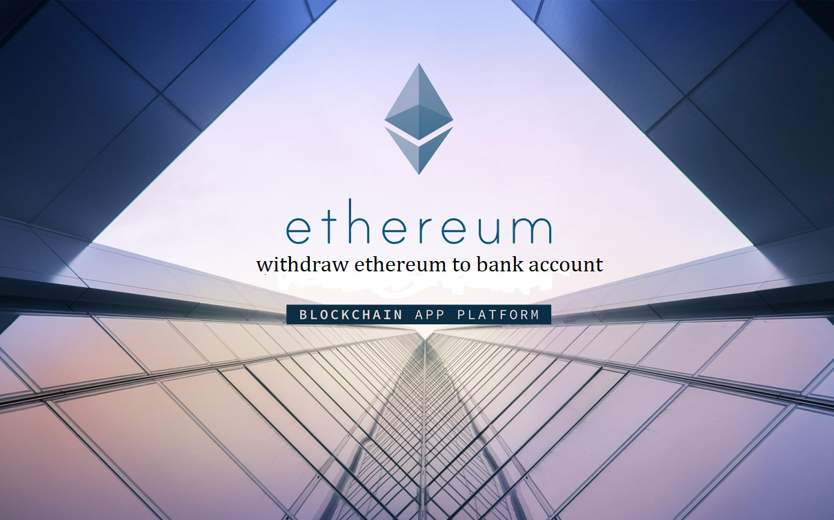 Ethereum To Bank Account instant withdrawal system