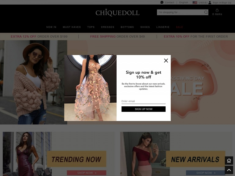 chiquedoll Promo Code | chiquedoll Coupon Code | chiquedoll Discount Coupon