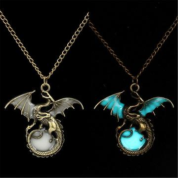 Game Of Throne Dragon Punk Luminous Dragon Pendant