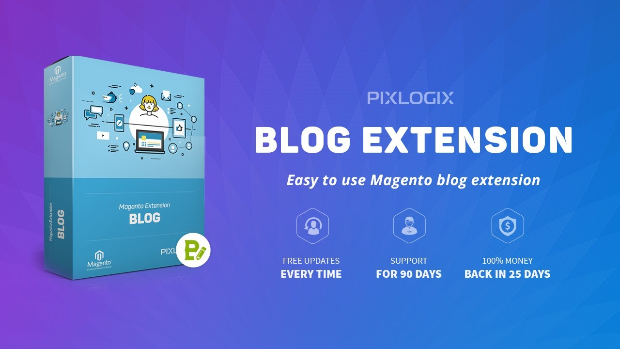 Most Excellent Blog Extension for Magento | Pixlogix Infotech Pvt. Ltd.