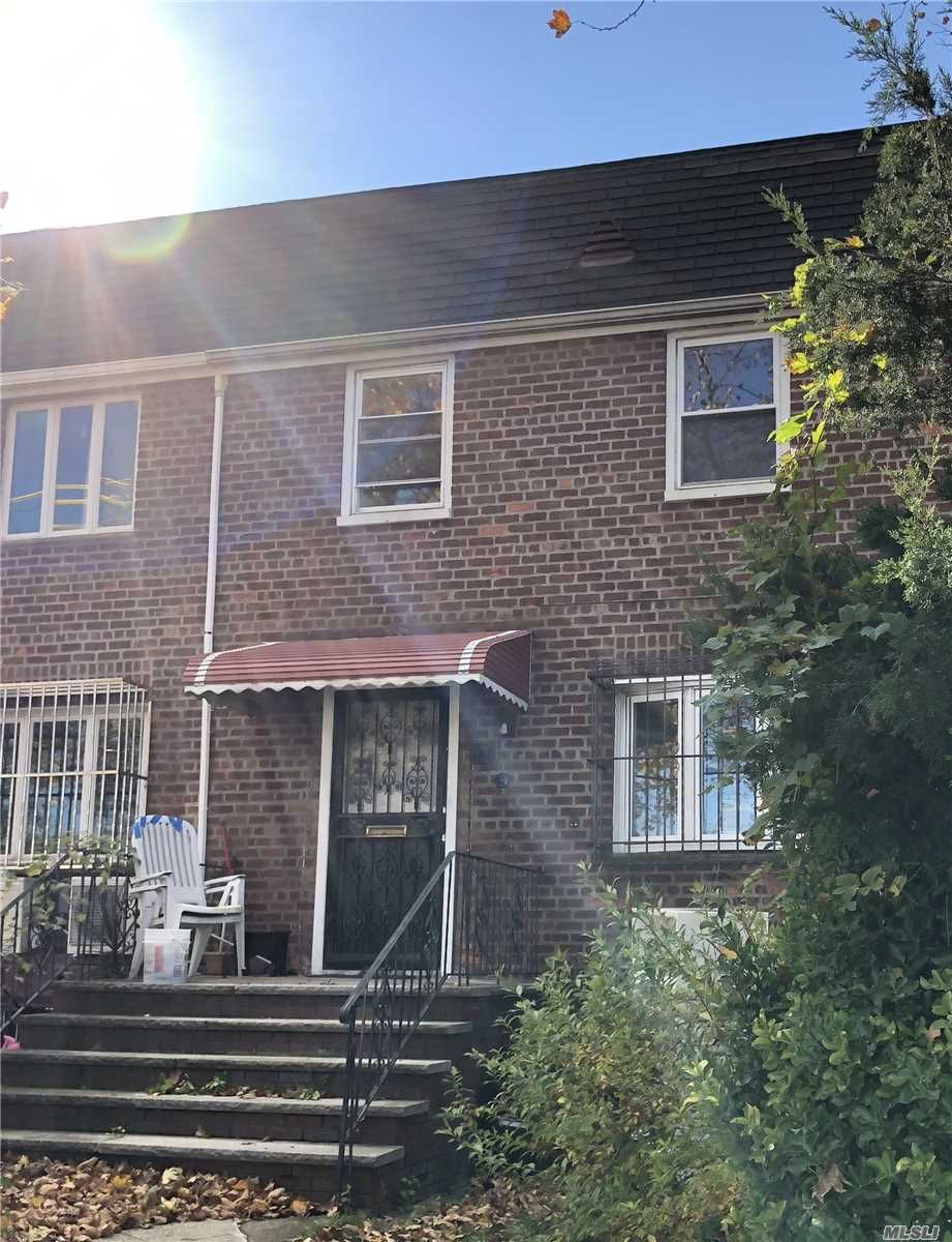 ID#: (CEN) Beautiful Brick Semi Detached Corner Colonial For Sale In Flushing.