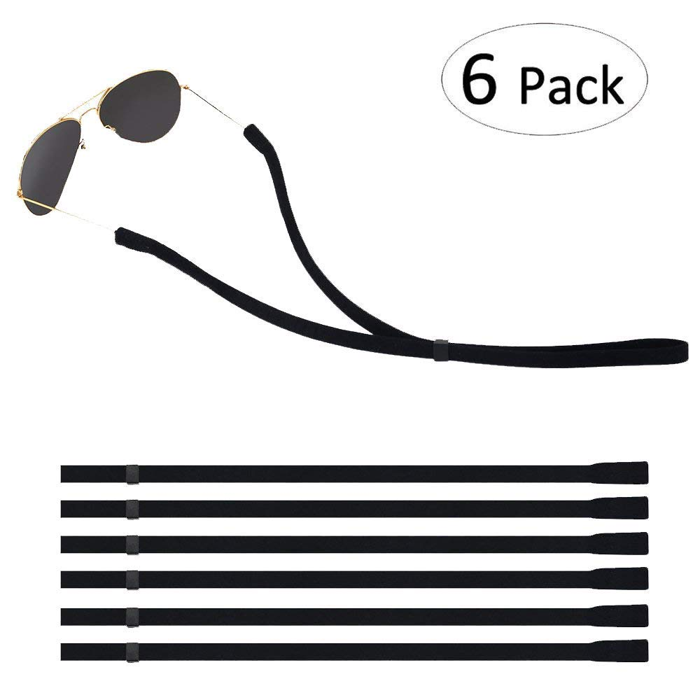 Adjustable Sunglass Strap, 6 pack only $3.88, Free Shipping for Amazon prime