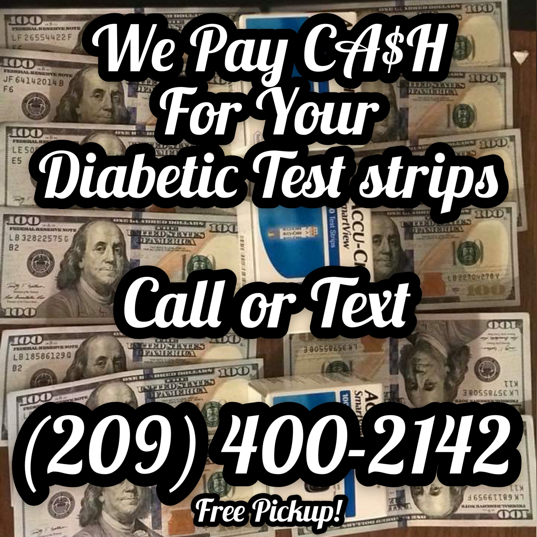 Paying CASH for your Diabetic Test Strips
