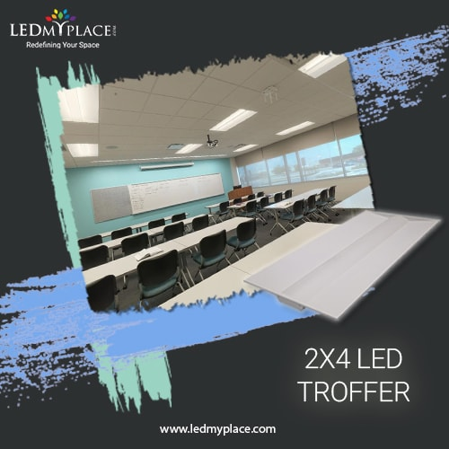 How To Make Home More Beautiful With Led Troffer 2x4
