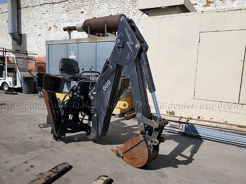 BRADCO 609 BACKHOE ATTACHMENT WITH 12