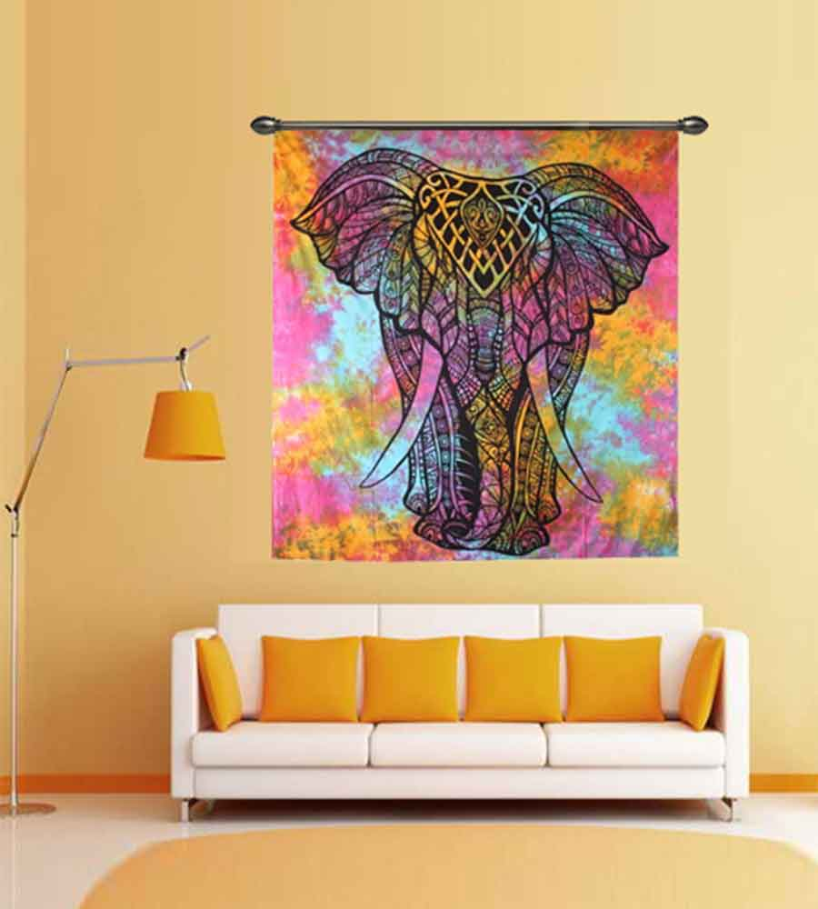 Buy Beautiful Animal Wall Hanging Tapestries at Handicrunch.