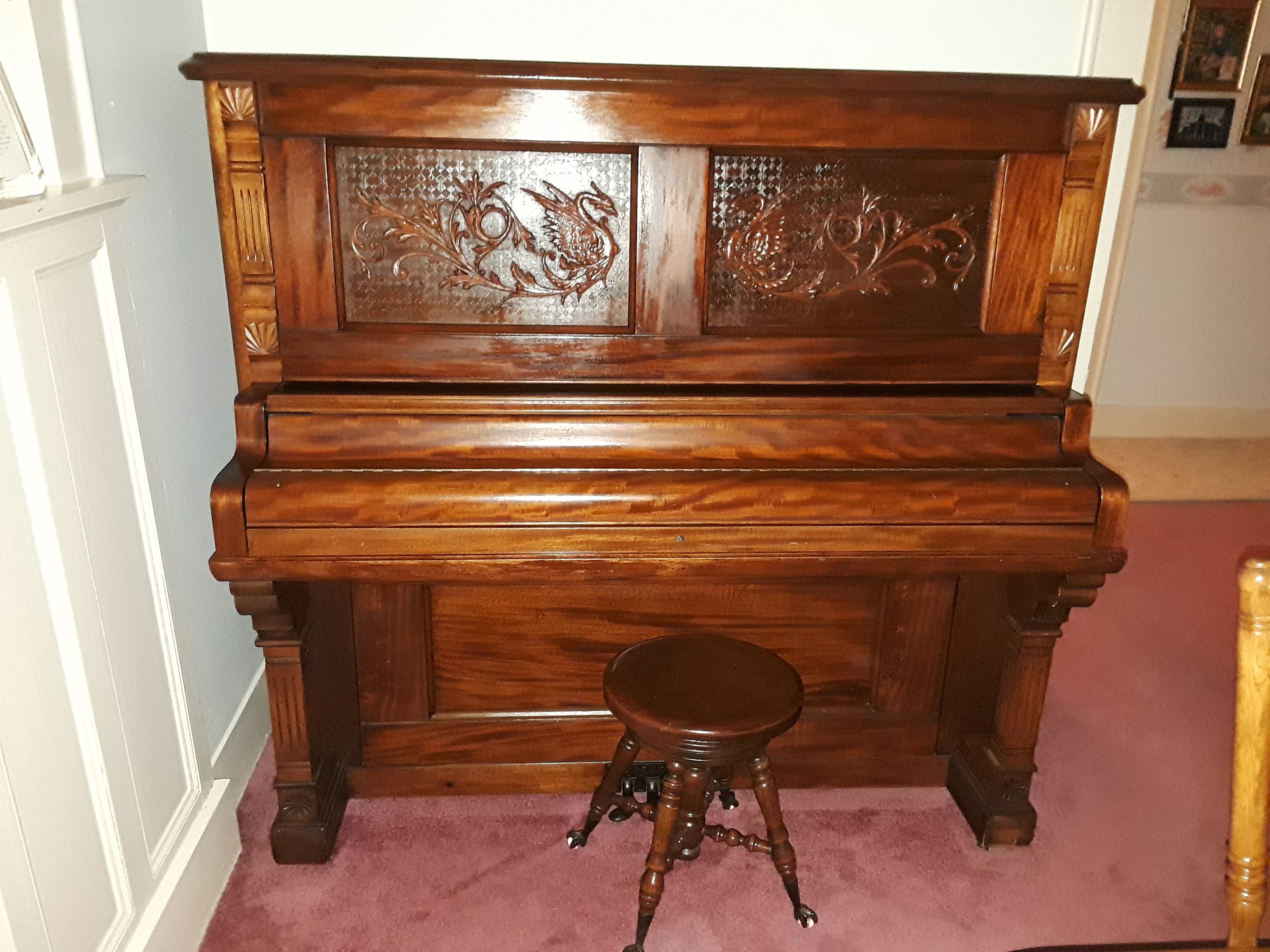 Victorian Era Upright Piano
