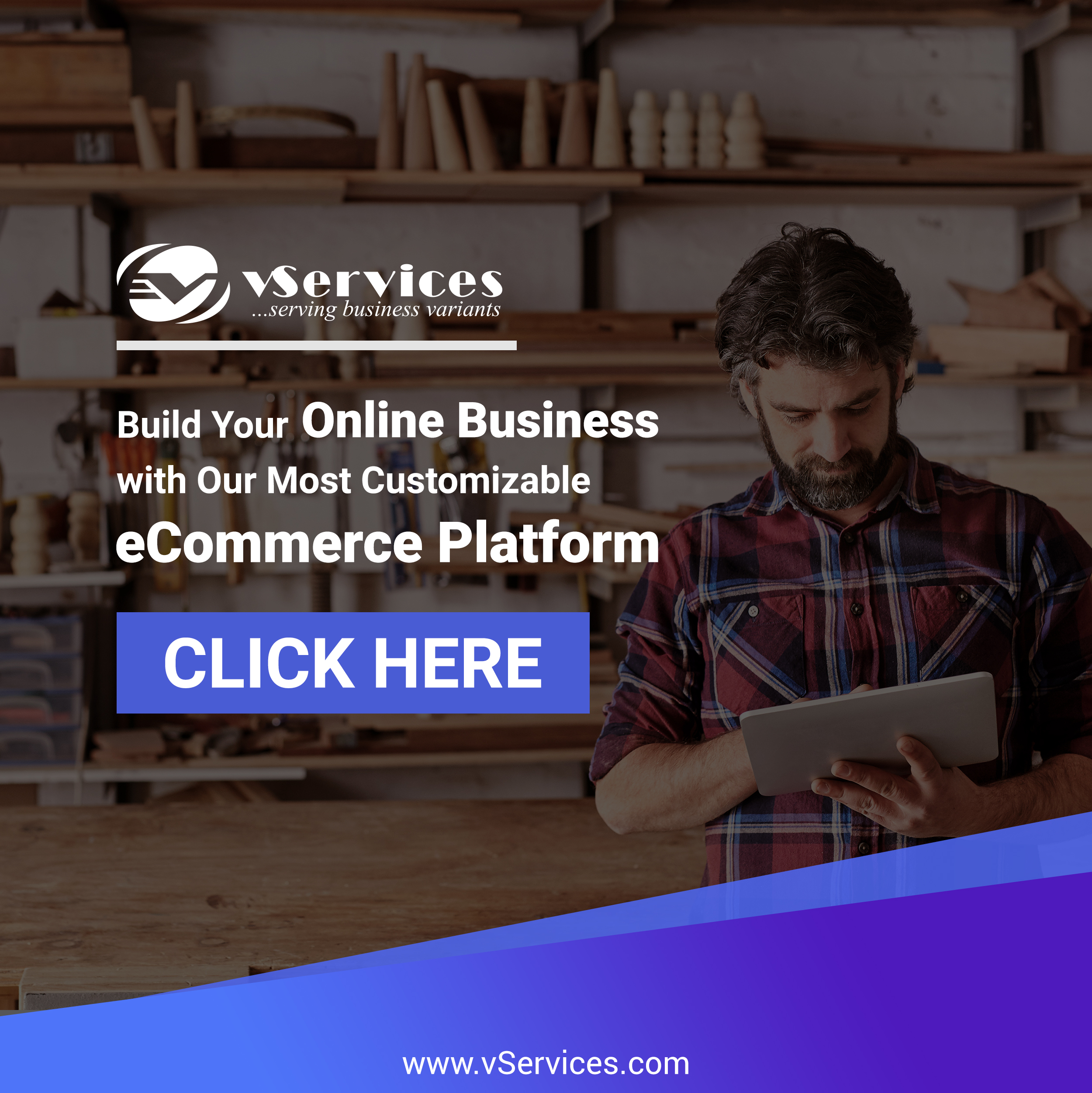 Ecommerce Web Design Services | Custom Website Design Solution | vServices