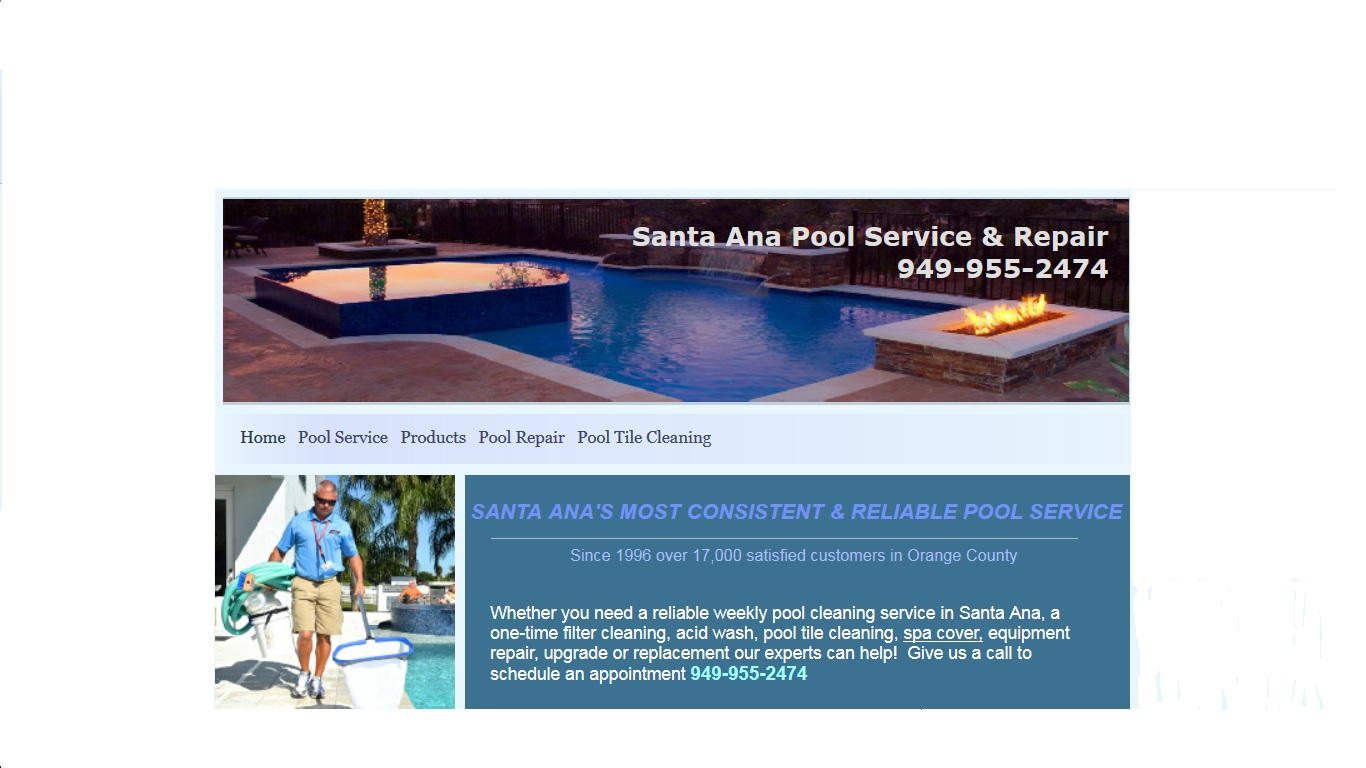 Santa Ana Pool Service and Repair