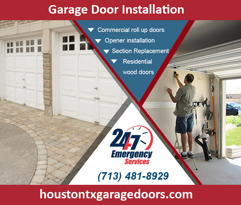 Commercial Garage Door Installation ($25.95) | Houston, 77008 Texas