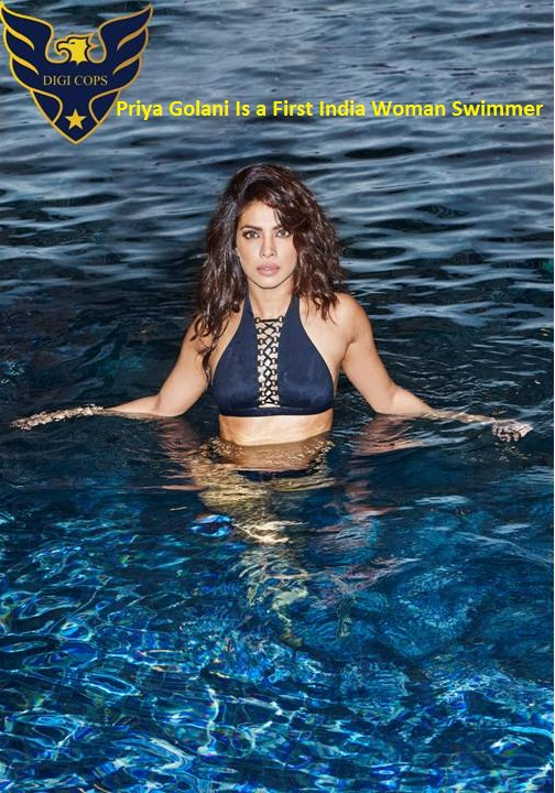 Priya Golani Is a First India Woman Swimmer