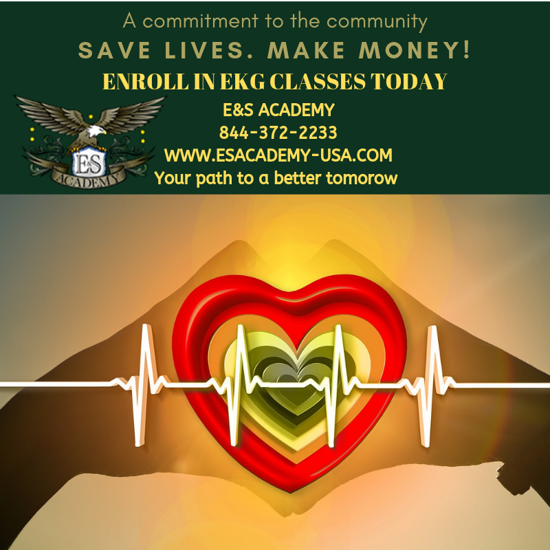 Save lives. Make money-Enroll in EKG classes today!