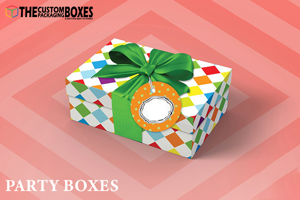 Get customize party box to make customers' party remember able