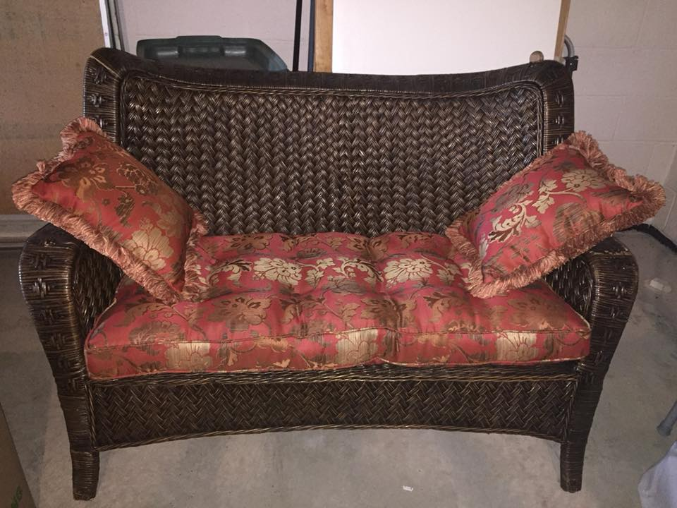 Patio Chair & Loveseat