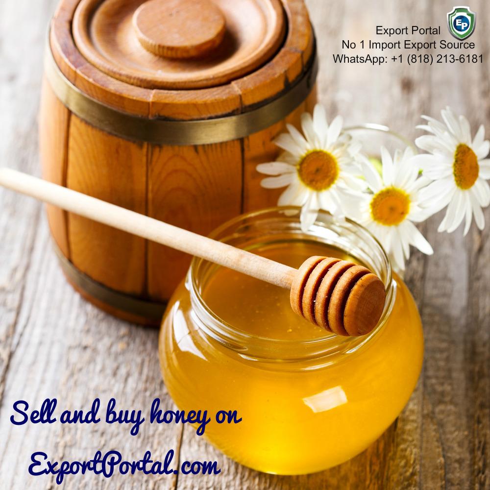 Sell honey online on Export Portal!