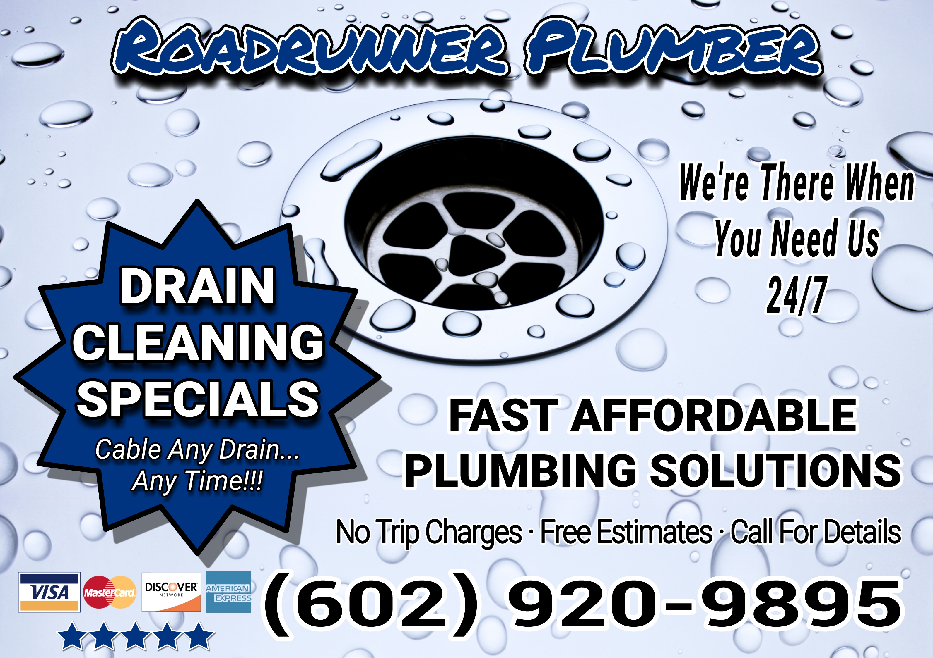 24/7 PLUMBING ★ DRAIN CLEANING SPECIALS ★ PLUMBER ☎︎
