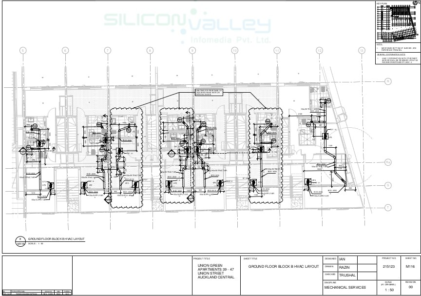 HVAC Duct Shop Drawing Services - Silicon Info