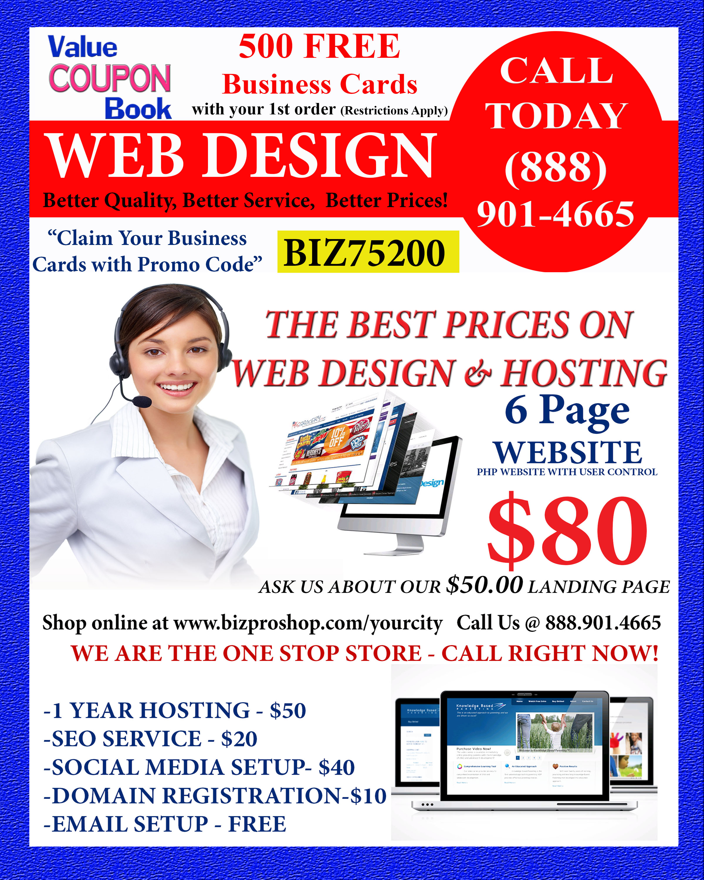 Increase Sales by 500% for 9.99 | Coupon Advertising