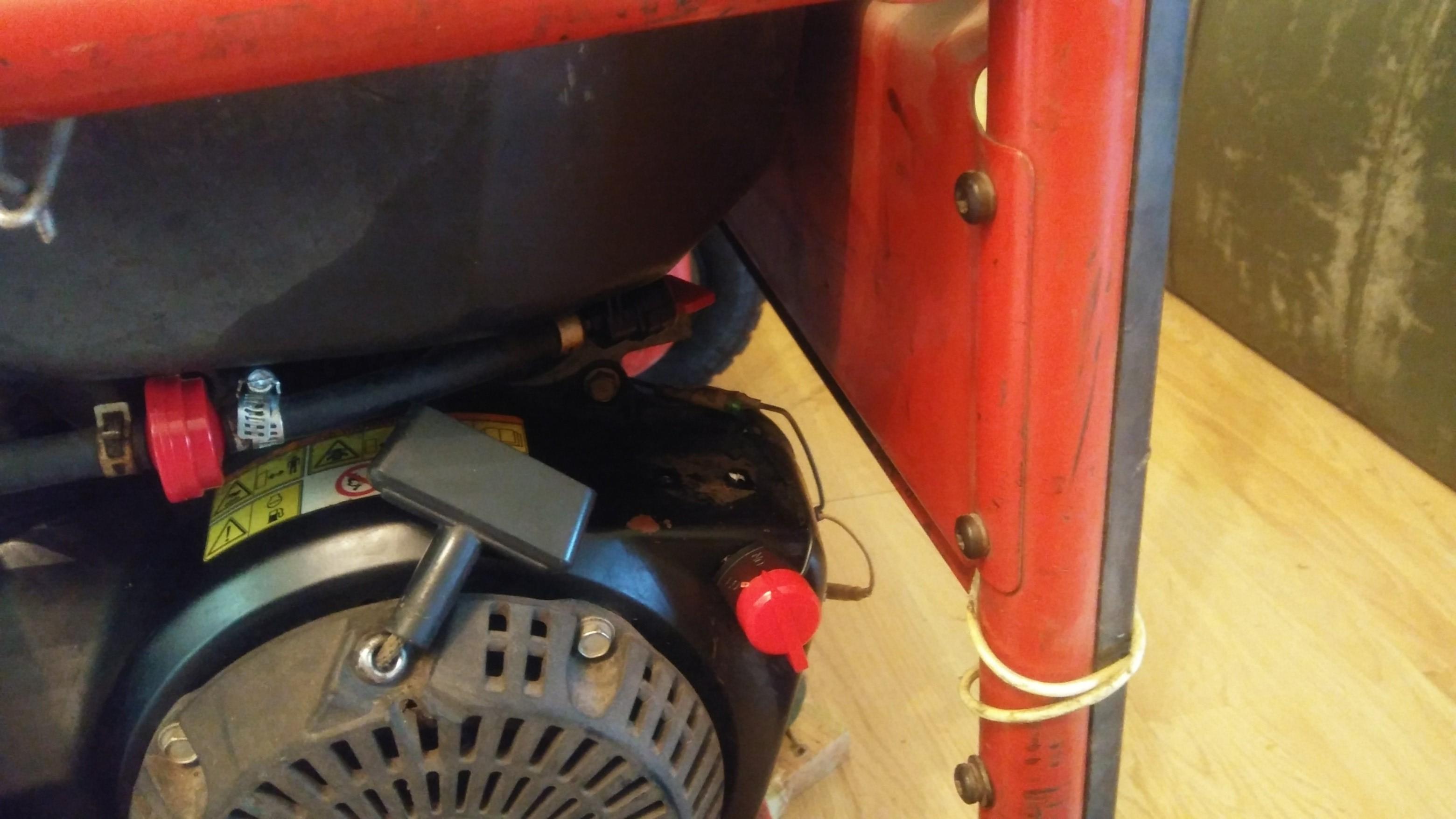 Husky 5,000-Watt Gasoline Powered Generator with Subaru Engine