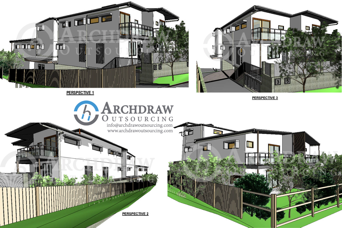 Revit Modeling Services | Autodesk Revit BIM Families | Revit Components - Archdraw Outsourcing