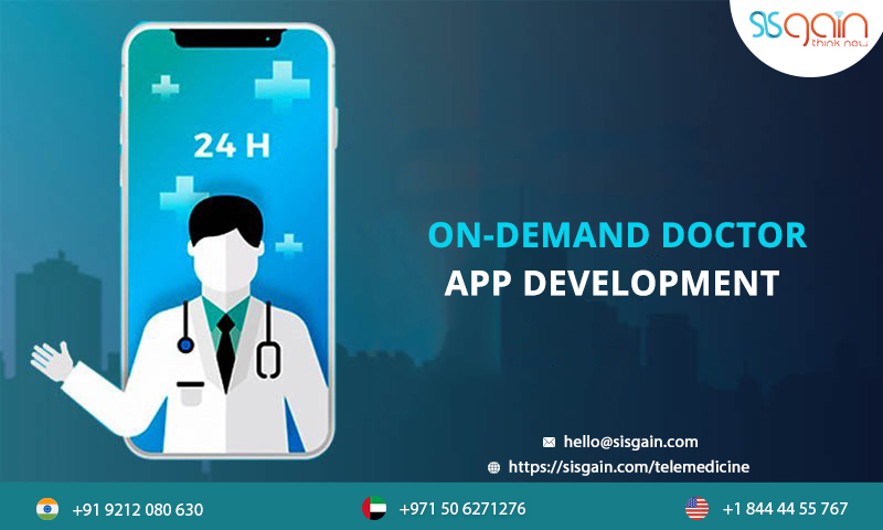 Looking for On-demand doctor App development in USA?