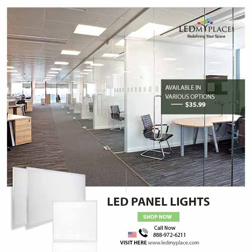 Modernize Homes and Offices by installing LED Panel Light