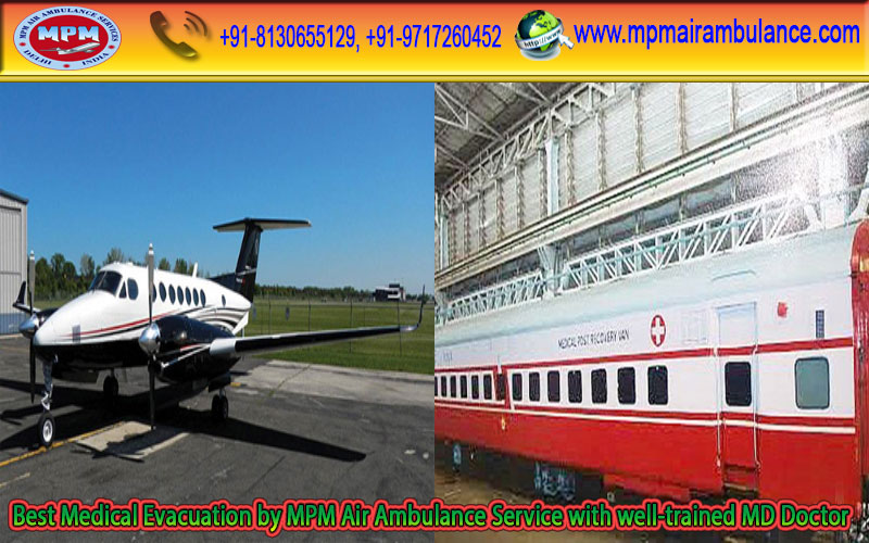 Fully Equipped Air Medical Facility by MPM Air Ambulance Services in Kolkata