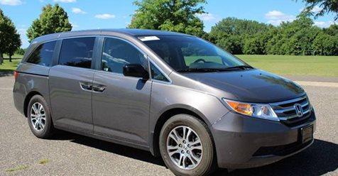 Grey 2012 Honda Odyssey EX-L 4dr Luxury Mini-Van  W/ 55K Miles $13,775