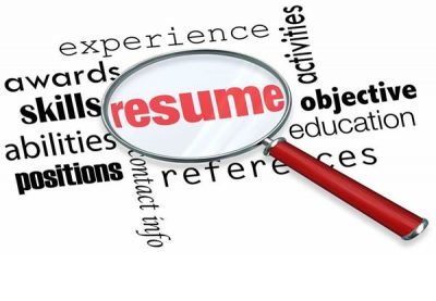 Resume and cover letter to make you stand out