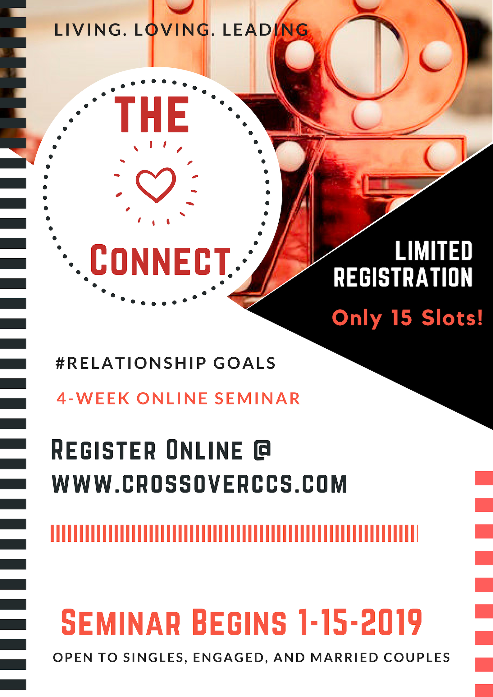 """The Connect"" #Relationship Goal Seminar"