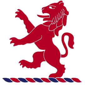 Logo for London Scottish Red Lions Touch