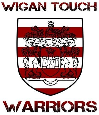 Logo for Wigan Warriors Touch Club